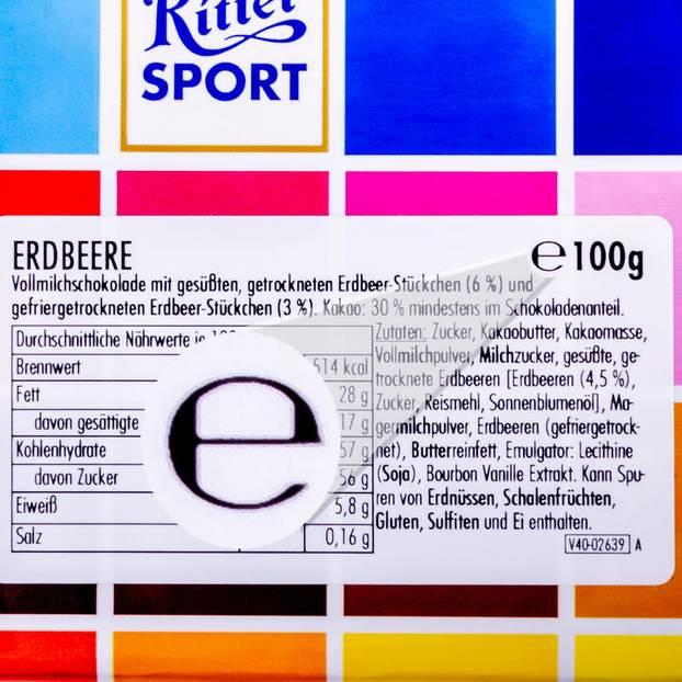 Was bedeutet das e auf Etiketten?