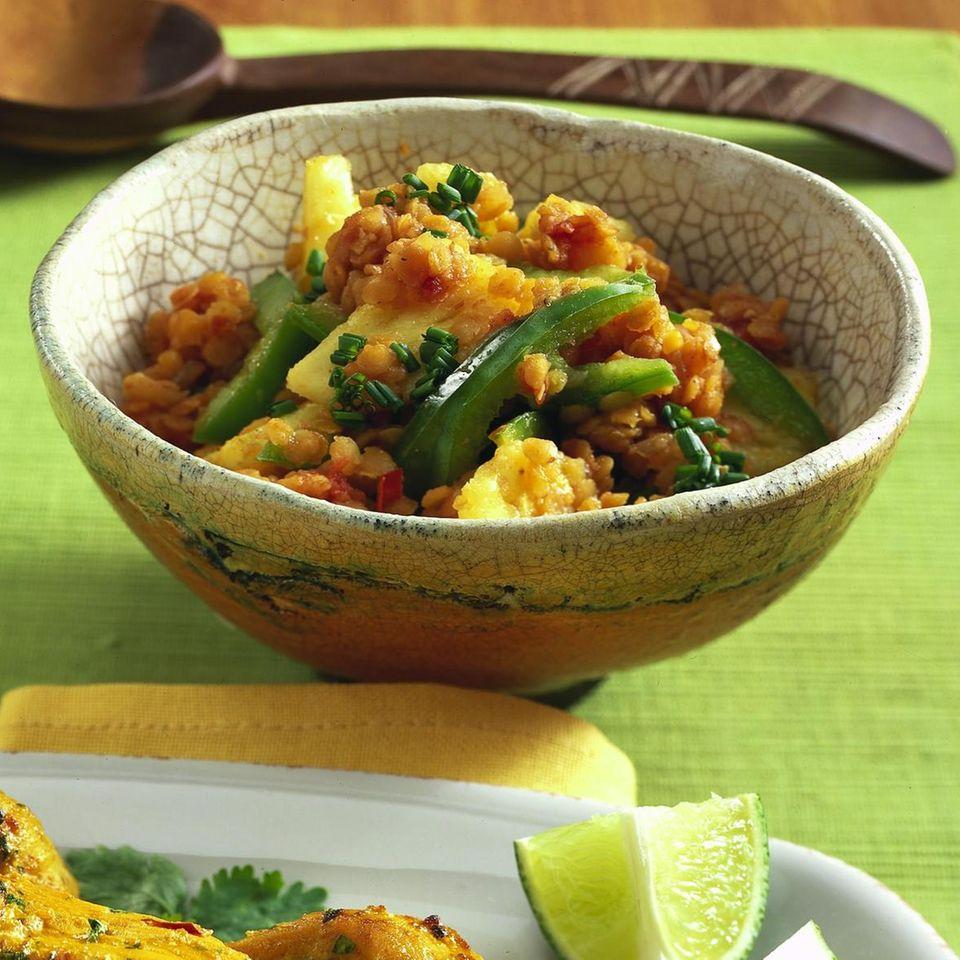Thai-Linsen-Salat