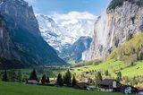 Geheimtipps in Europa: Lauterbrunnen, Schweiz