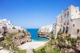 Geheimtipps in Europa: Polignona a Mare (Italien)