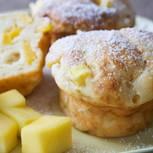 Muffins mit Ingwer und Mango
