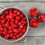 Erdbeeren einkochen: Schritt für Schritt