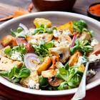 Herbstlicher Kartoffelsalat mit Pilzen
