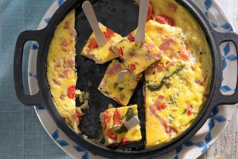 Piperrada - Eierpfanne mit Paprika