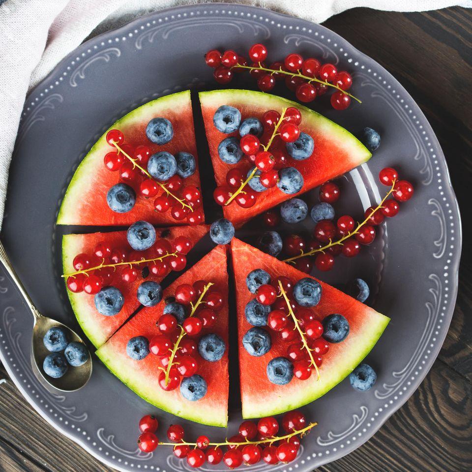 Wassermelonen-Torte: sommerlich und fruchtig