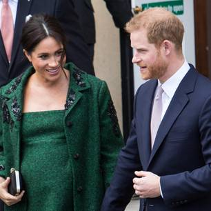 Baby Sussex: Herzogin Meghan und Prinz Harry
