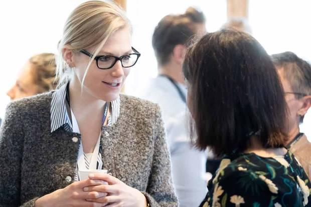 Jana Maria Siemens von Mutterherz Kaffee nutzt UdZ auch als Netzwerk