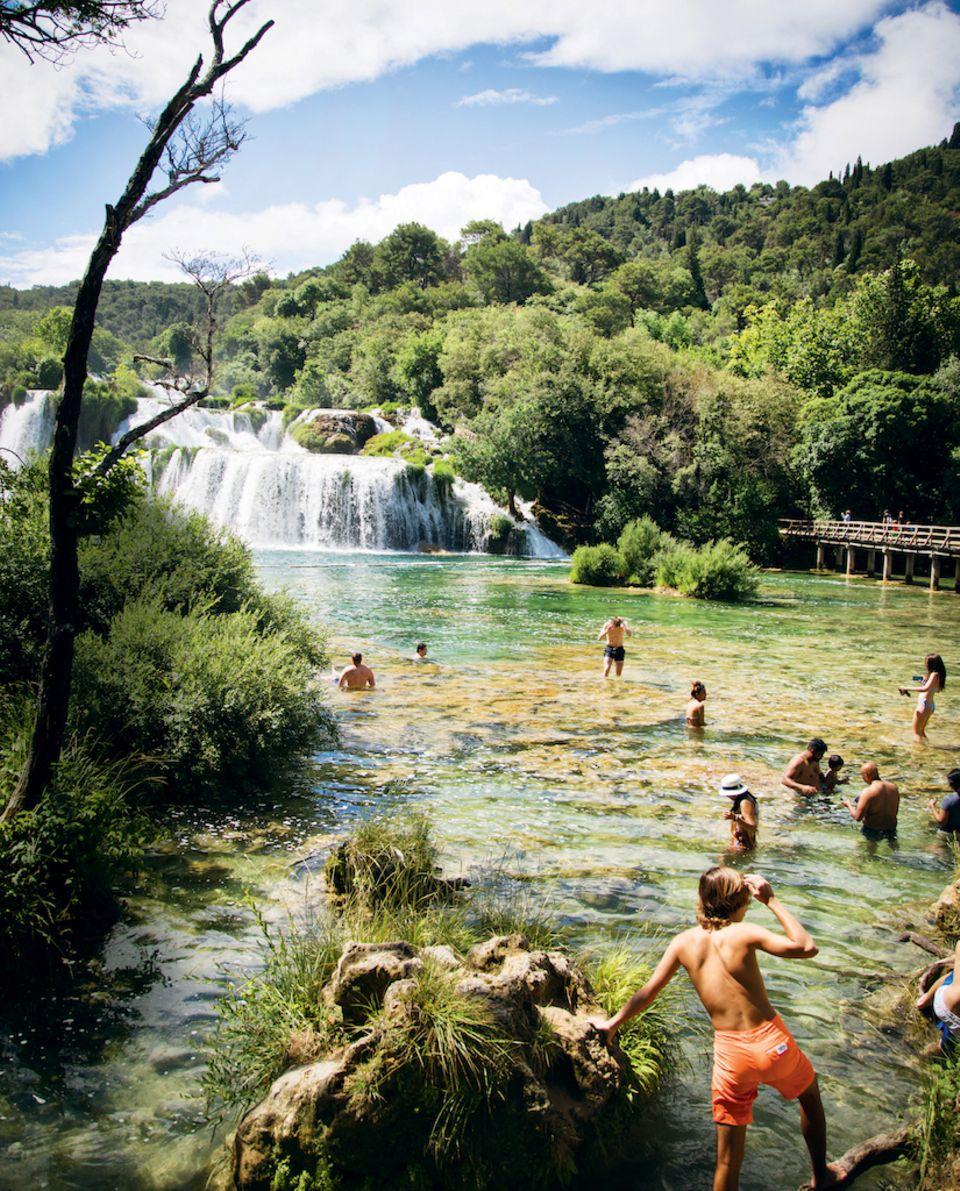 Kroatien-Tipps: Fluss Krka