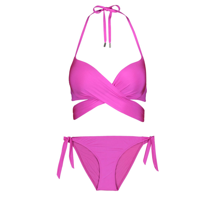 Pinker Bikini von New Yorker