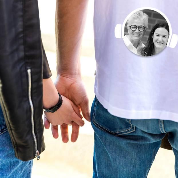 Vertrauen – Paar hält Händchen