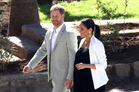 Meghan Markle und Prinz Harry: Das Paar geht spaziere
