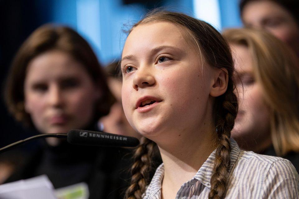 Greta Thunberg kämpft für den Klimaschutz