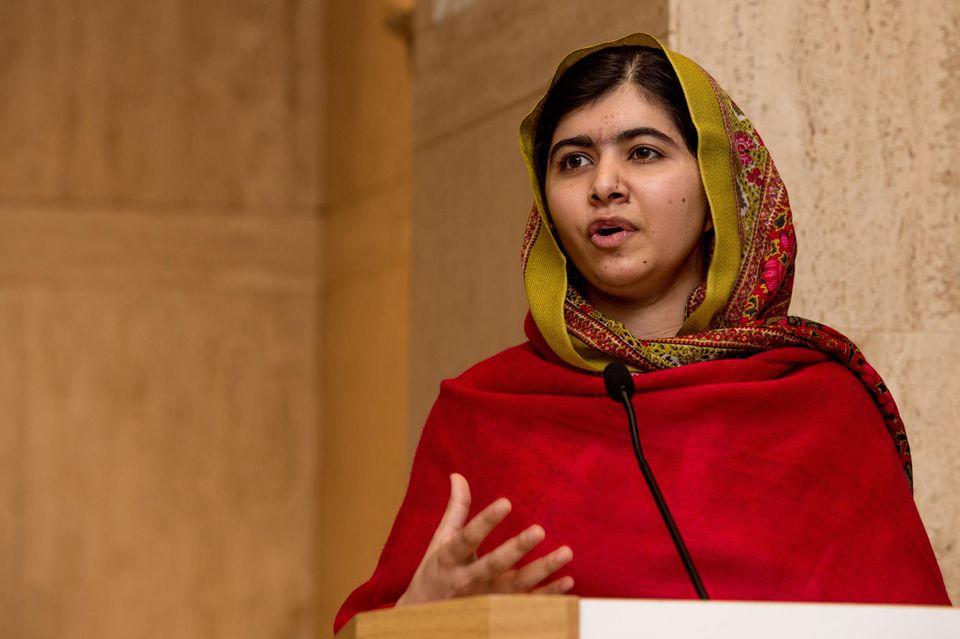 Malala Yousafzai kämpftfür das Recht auf Bildung