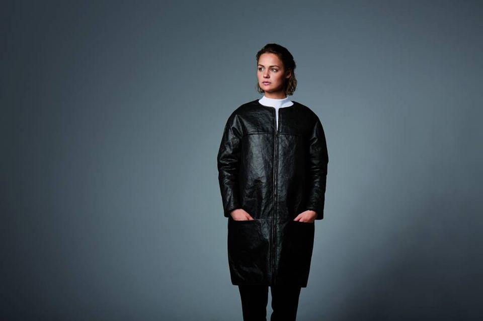 Nachhaltige Stoffe: Mantel aus Tyvek