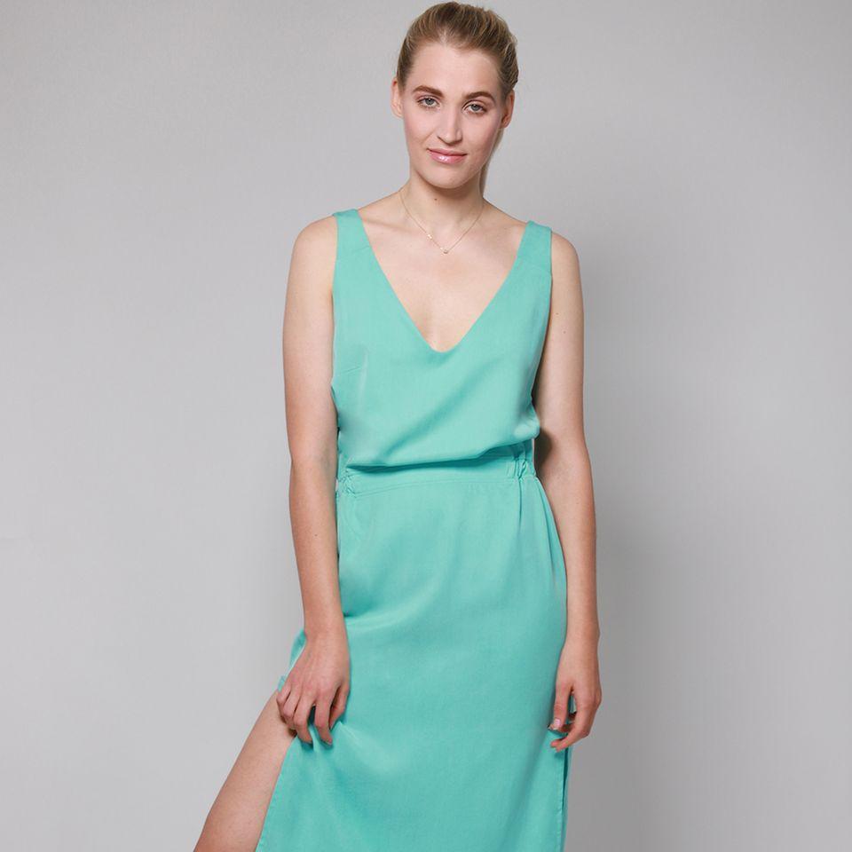 Nachhaltige Stoffe: Kleid aus Zellulose