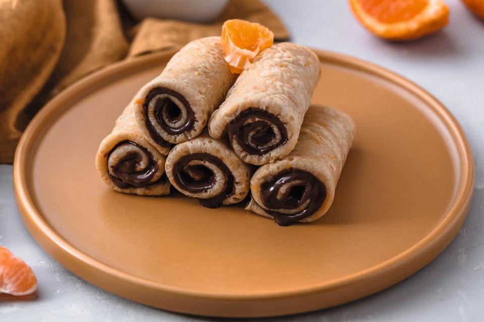 Food-Styling: Orangen-Crêpes