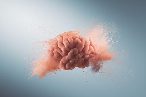 Das passiert in deinem Gehirn beim Orgasmus: Gehirn explodiert
