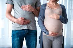 Das sind die Auswirkungen einer Sympathieschwangerschaft