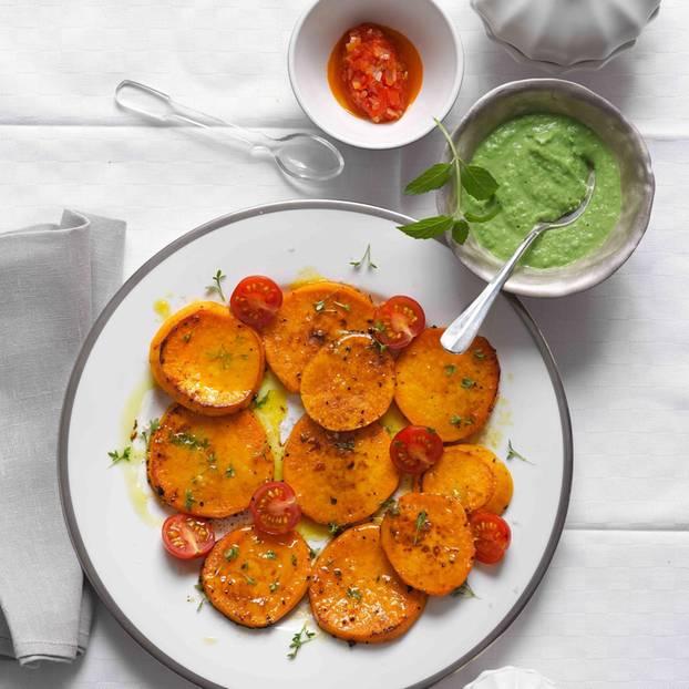 Süßkartoffel-Medaillons