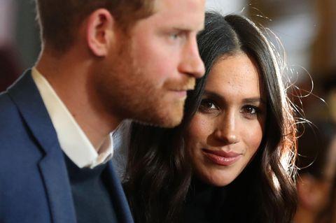 Meghan und Harry entfolgen William und Kate: Nahaufnahme von Prinz Harry und Herzogin Meghan