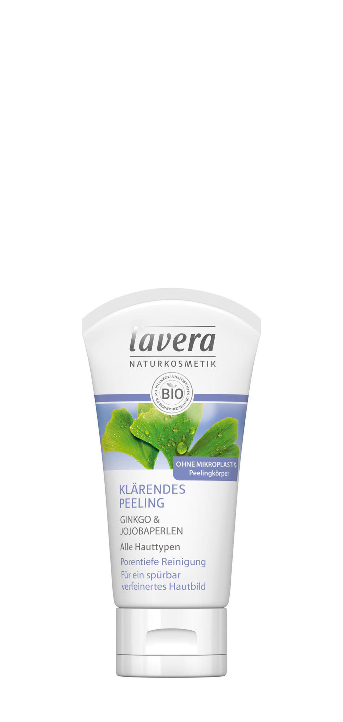 """Peeling ohne Mikroplastik: """"Klärendes Peeling"""" von Lavera"""