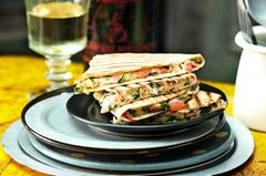Gegrillte Quesadillas