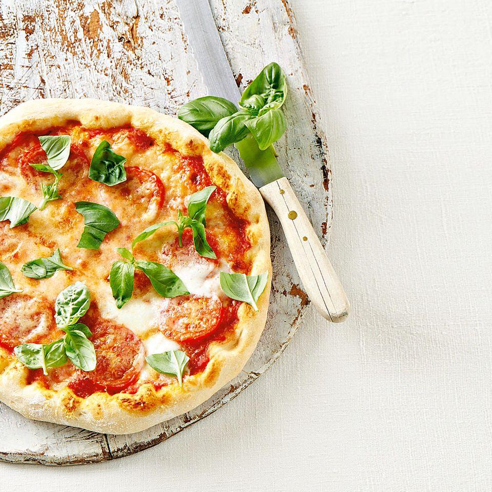 Pizza Margherita Rezept