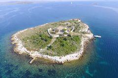 Insel mieten: Otok Ravna Sika (Kroatien)