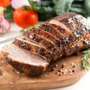 Schweinefilet grillen: Gegrilltes Schweinefilet