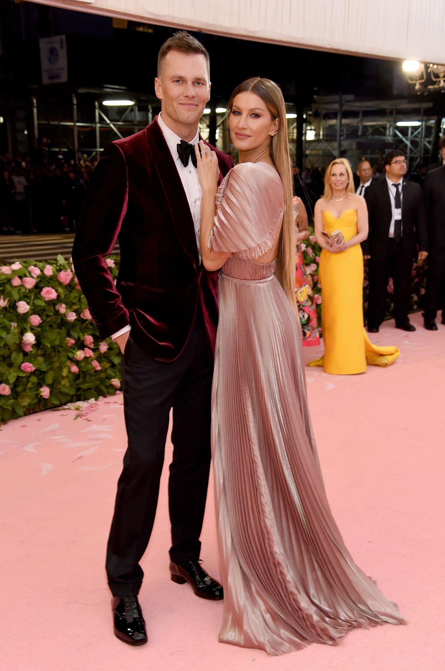Pärchenlooks der Met Gala 2019: Gisele Bündchen und Tom Brady