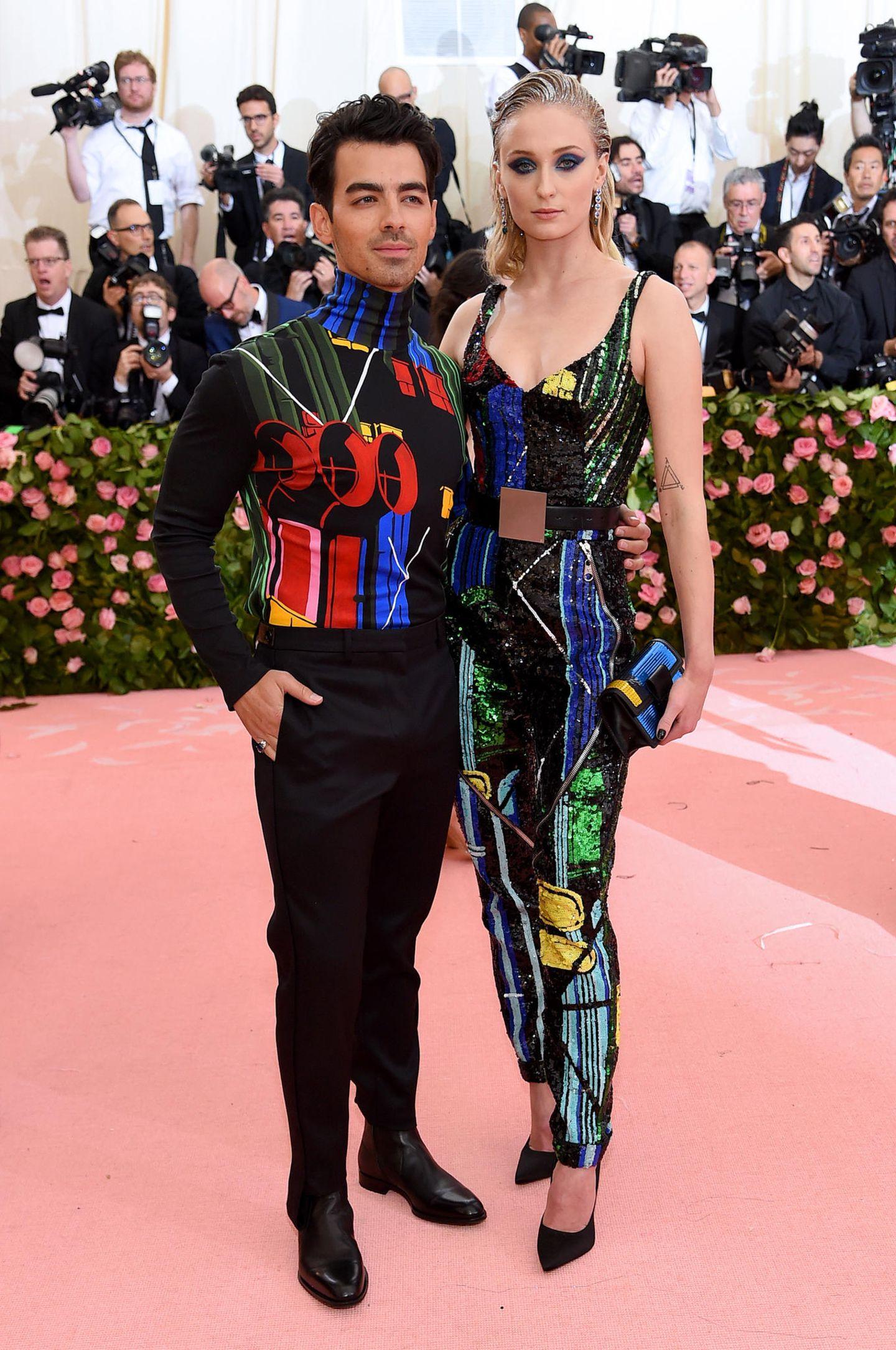 Pärchenlooks der Met Gala 2019: Sophie Turner und Joe Jonas