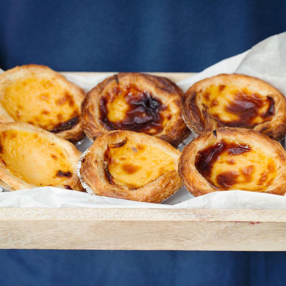 Pastel de Nata - portugiesische Käse-Küchlein