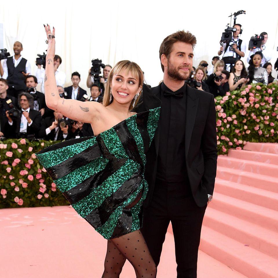 Pärchenlooks der Met Gala 2019: Miley Cyrus und Liam Hemsworth