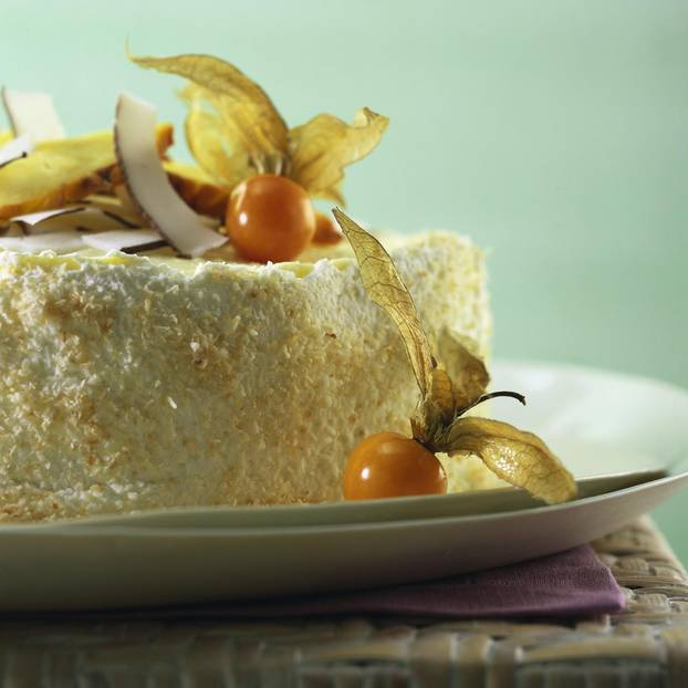 Pina-Colada-Torte