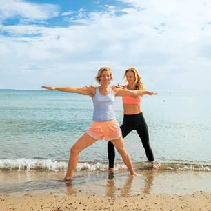 Yoga-Urlaub: Krieger