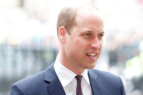 Prinz William in Uniform