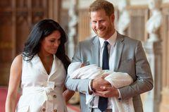 Herzogin Meghan & Prinz Harry mit Baby Archie