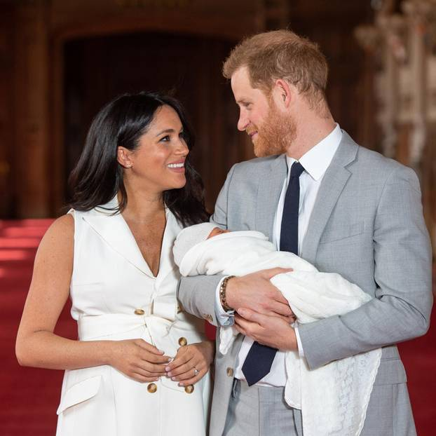 Archie Harrison Mountbatten-Windsor: Meghan und Harry mit Baby