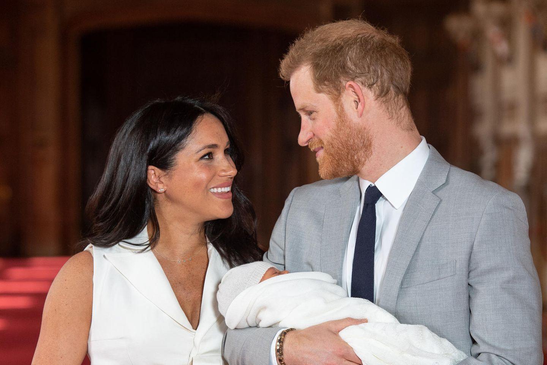 Archie Harrison Mountbatten-Windsor: Meghan und Harry mit Baby