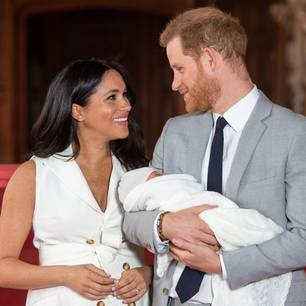 Meghan Markle: Meghan mit Harry und Baby Sussex