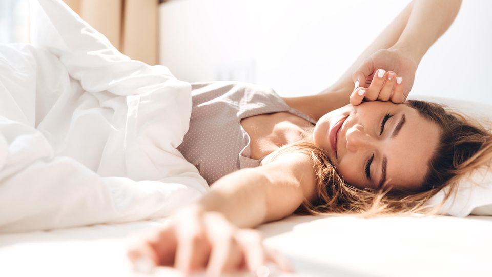 Bettposition: So schläft es sich endlich besser!