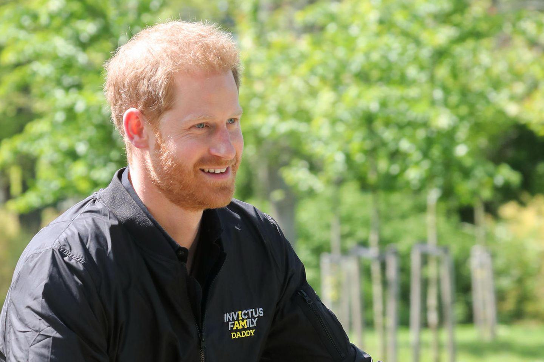 Prinz Harry: Prinz Harry auf dem Fahrrad