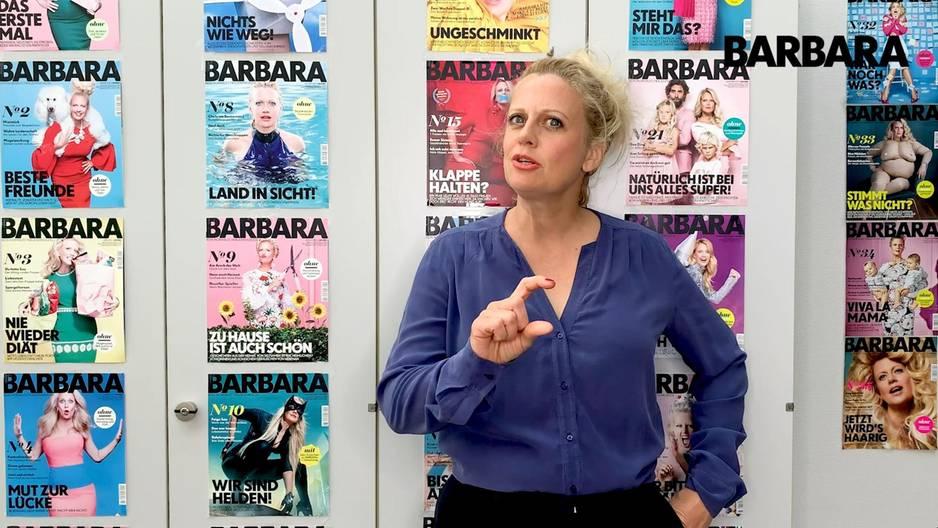 Barbara über fussfetisch