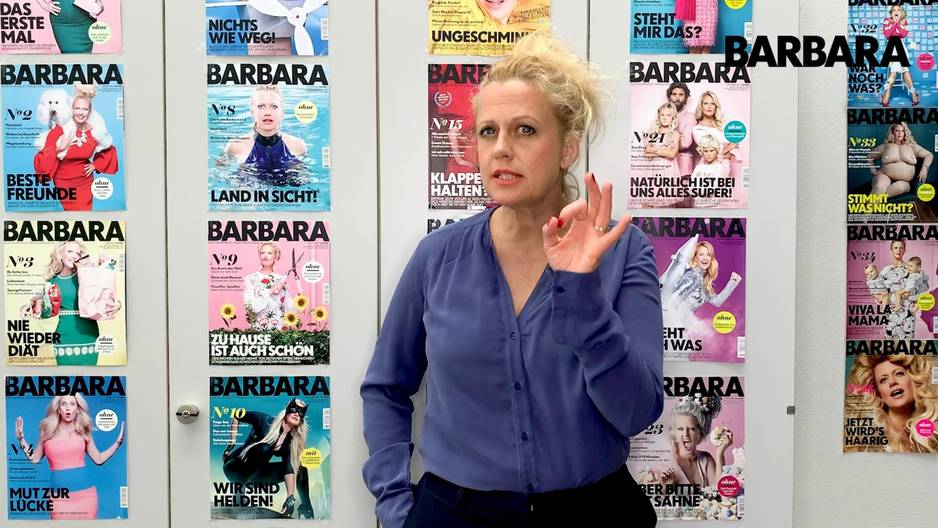 Barbara über achselhaare