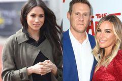 Meghan Markles Ex-Mann Trevor Engelson hat neu geheiratet: Meghan Markles, Trevor Engelson und Tracey Kurland