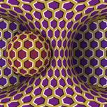 Verrät dieses Bild in 5 Sekunden, wie gestresst du bist? Ball dreht sich um Säule
