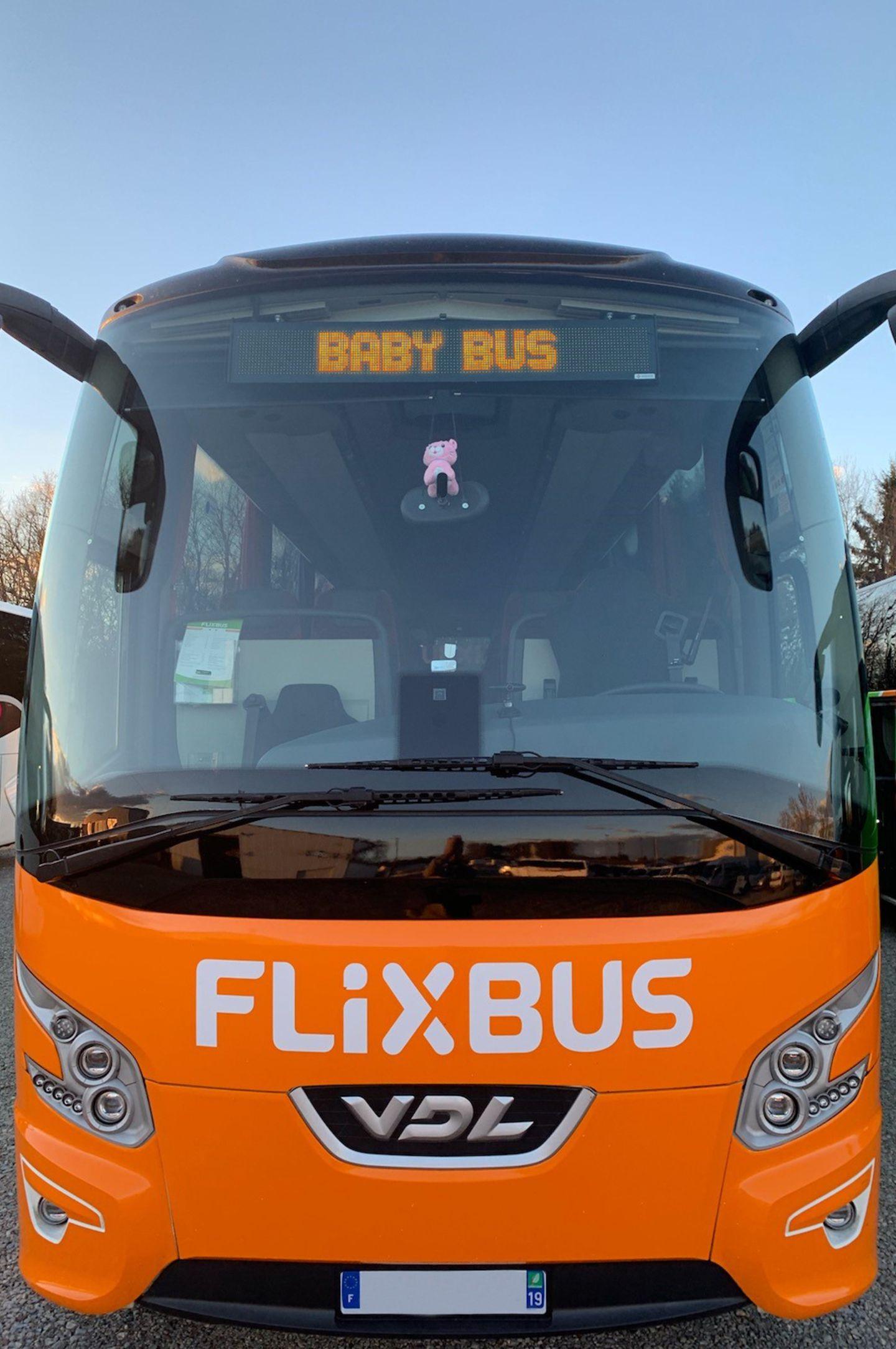 Willkommen, Zenep: Das erste Flixbus-Baby ist da!