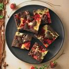 Erdbeer-Brownie-Cheesecake