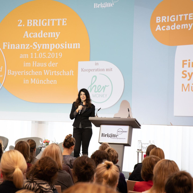Finanzsymposium: Brigitte Huber