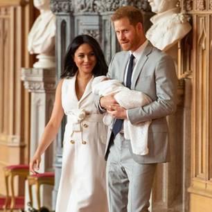 Bedrohungen für Archie Mountbatten-Windsor: So wird der kleine Royal beschützt